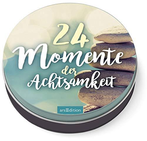 24 Momente der Achtsamkeit - Ein Adventskalender in der Dose...