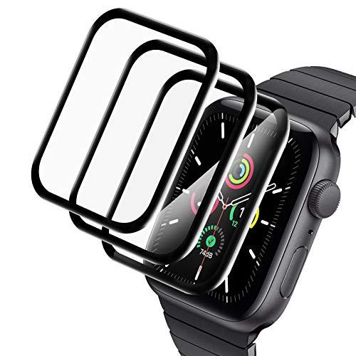 A-VIDET 3 Stück Schutzfolie kompatibel mit Apple Watch Series 6/SE/Series...