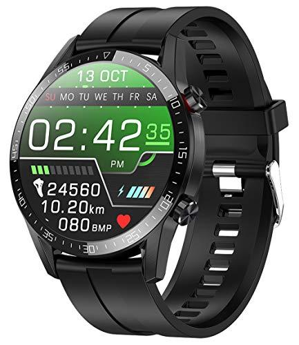 jpantech Smartwatch Voll Touch Screen IP68 Damen Herren Intelligente Uhren Sport | Bluetooth-Anruf | EKG-Überwachung Tracker Pulsuhr Schrittzähler...