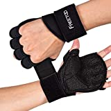 FREETOO Fitness Handschuhe Atmungsaktive rutschfeste Trainingshandschuhe Sport...