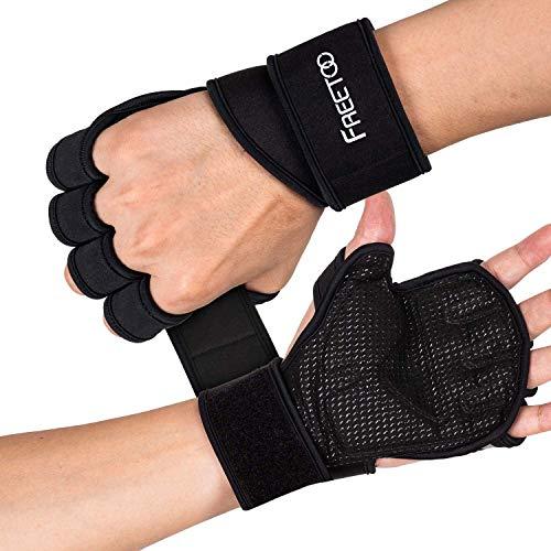 FREETOO Fitness Handschuhe Atmungsaktive rutschfeste...