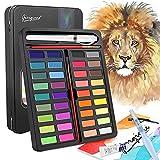 DIAOPROTECT Aquarellfarben Set, 36 Farben Wasserfarben Set,...