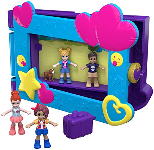 Mattel Polly Pocket FRY96 Beste Freunde Bilderrahmen