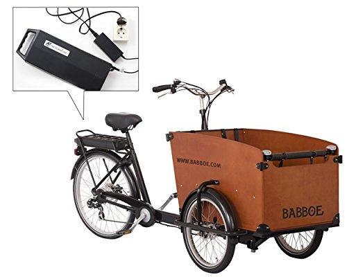 Babboe Big E-Power Elektro Lastenfahrrad 3-Rad