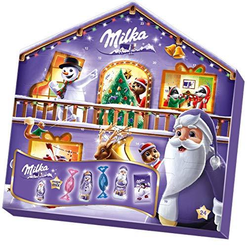 Milka Magic Mix Adventskalender 1 x 204g, Mix aus 7 Milka...