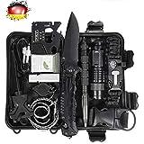 LC-dolida Survival Kit 15 в 1, Набор для аварийного выживания на открытом воздухе ...