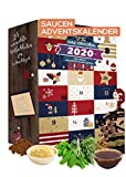 ADVENT CALENDAR with for sauces & dips 24x20g I special ...
