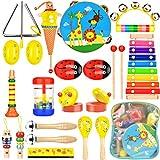 Wesimplelife 22 stykker musikkinstrumenter satt for barn fra 3 ...
