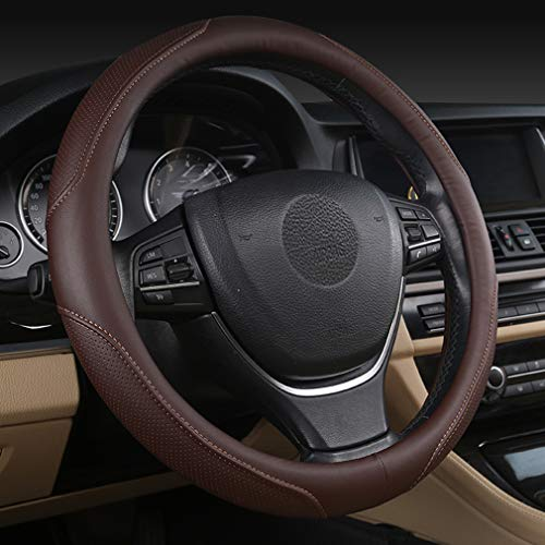 15 2-Blau Pahajim/Universal Steering Wheel Cover Auto Lenkradh/ülleHeavy Duty Mikrofaser Weich Lenkradbezug 38CM