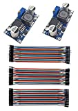 LM2596 strømtransformator med 40-polet flerfarvet ledning, DC ...