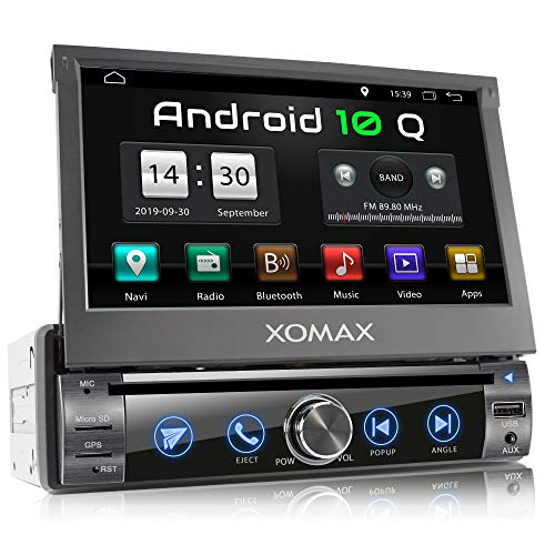 XOMAX XM-DA759 Autoradio mit Android 10, QuadCore, 2GB RAM, 32GB ROM, GPS...