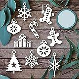 Lai-LYQ Stanzmaschine Stanzschablone, Weihnachtsmann Scrapbooking Prägeschablonen Handwerk Papier Deko Festival Karten Geschenk (10 Stück)