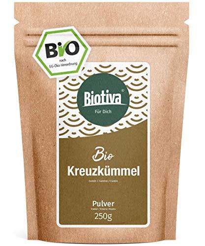 Kreuzkümmel Bio gemahlen 250g - Kumin - oder Cuminpulver - Top Qualität - Abgepackt und kontrolliert in Deutschland (DE-ÖKO-005)