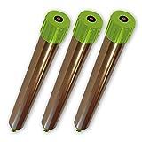 ISOTRONIC Maulwurfabwehr Vibrasonic mit ON/Off Schalter NEU mit Vibrationsmotor batteriebetrieben Wühlmausfrei Wühlmausschreck Wühlmausvertreiber...