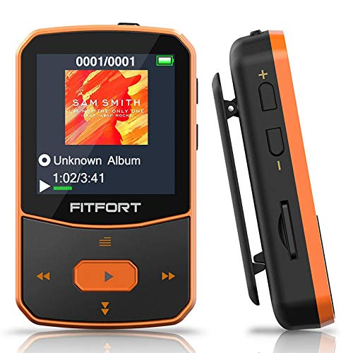 MP3 Player Bluetooth 5.0 Sport - Verlustfreier Sound FM...
