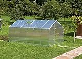 Invernadero de aluminio Gartentec tipo F2 - tipo F6 (tipo F6: ...