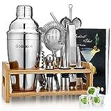 Cocktailset, Godmorn roestvrijstalen cocktailshaker-set, 15 ...