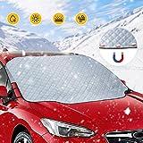 rabbitgoo Frontscheibenabdeckung Auto Frostschutz Abdeckung Faltbare Auto...