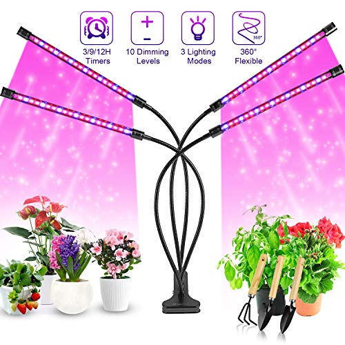 30W LED Grow Light Lamp Pflanzenlampe Vollspektrum Wachstumlampe Pflanzen Licht