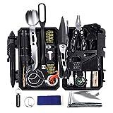 YEVHEV Outdoor Survival Kit 60 i 1, multifunksjonell utendørs ...