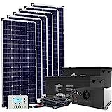 24V Offgridtec© Autark XXL-Master 1080W Solar - 2000W AC...