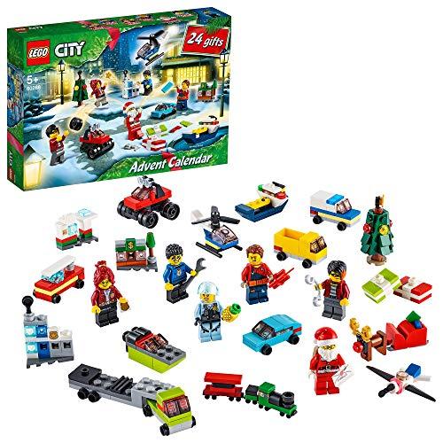 LEGO 60268 City Adventskalender 2020 Weihnachten Mini Bauset...