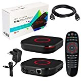 MAG 324w2 alkuperäinen Infomir & HB-DIGITAL IPTV-sarja TOP Box Multimedia-soitin Internet-TV IP-vastaanotin (HEVC H.256-tuki), jossa on WiFi WiFi