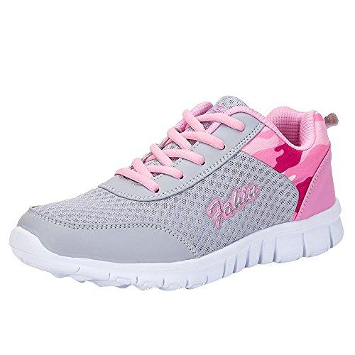 ‿ Loveso Mode Schuhe Damen,Frauen Berufsschuhe Cross-Trainer Sneaker...