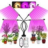 Maxsure Pflanzenlampe LED, 80W Pflanzenlicht Vollspektrum, 4...