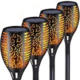 Tooklanet Led Garden Solar Flame Torches Водонепроницаемый ...