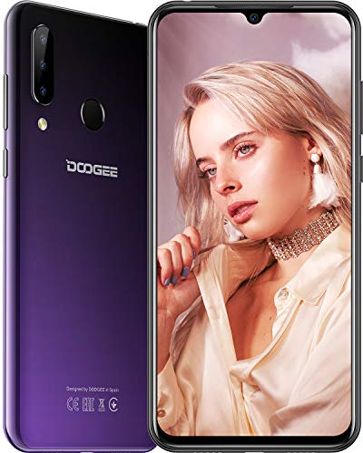 DOOGEE N20 (2019) Smartphone ohne Vertrag, P23 Octa-Core 4GB RAM 64GB ROM, 6,3...