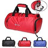 BTNEEU Sporttasche mit Schuhfach für Damen und Herren, 20L Reisetasche Frauen Groß, Wasserdicht Handgepäck Tasche, Trainingstasche Fitnesstasche...