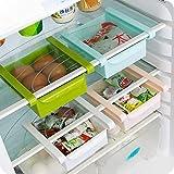 Hűtőszekrény / fagyasztó szervező, helytakarékos, polc, ...