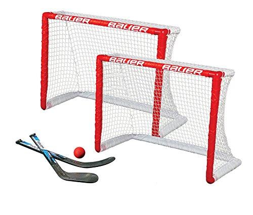 Bauer Knee Goal 2-er Set 30.5 Zoll Hockeytor, Rot, M