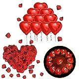 ASANMU Romantic Deco Candles, Wedding Decoration Set 1000 ...