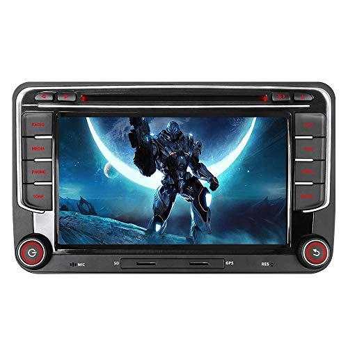16GB SD Karte 7' Autoradio DVD GPS CAN-Bus Für VW Golf 5/6 V VI, Passat B6,...