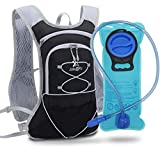 Рюкзак для гидратации TEUEN с гидратирующим пузырем 2L маленький беговой рюкзак ...