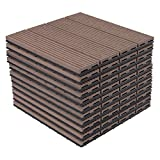 Lestarain WPC houten tegels terrastegel ...