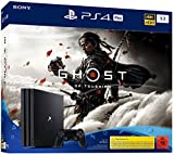 PlayStation 4 Pro - konsol (1 TB, sort) Ghost of Tsushima ...