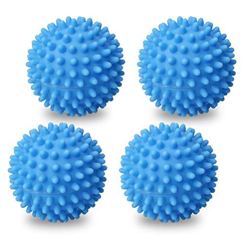 Navaris Bolas para Secadora y Lavadora de Lana Dryer Balls de Lana de Oveja Reutilizables Pelotas para secar la Ropa sin Usar suavizante