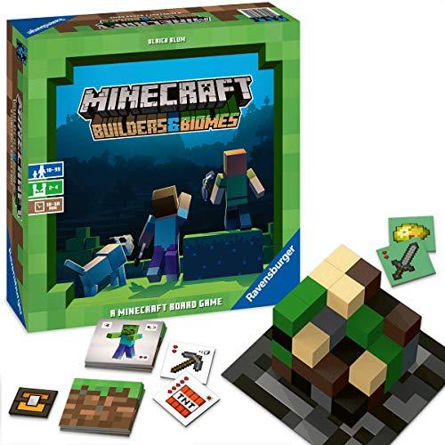 Ravensburger Familienspiel Minecraft Builders & Biomes,...