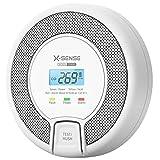 X-Sense CO detektor med digital skjerm, karbonmonoksid detektor, ...