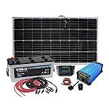 Insel Solaranlage PV-Anlage 1000W AC/Panel, Batterie,...