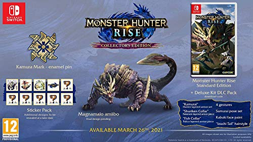 Monster Hunter Rise - Collector's Edition [Nintendo...