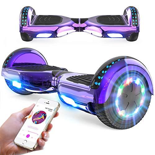 RCB Hoverboard 6,5 Zoll Elektro Skateboard für Kinder und Jugendliche...