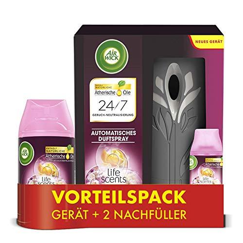 Air Wick Freshmatic Max – Vorteilspack mit Gerät und 2 Nachfüllern – Batteriebetrieben – Duft: Sommervergnügen – 2 x 250 ml Nachfüller +...