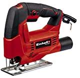 Einhell jigsaw TC-JS 60/1 (400 W, max. 60 mm, speed electronics, tool-free saw blade change, ...