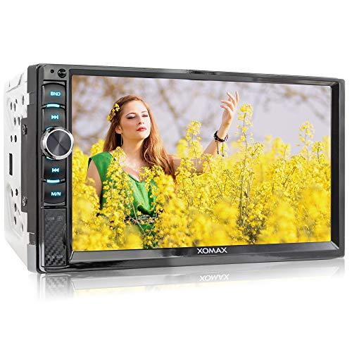 XOMAX XM-2V719 Autoradio mit Mirrorlink für Android, Bluetooth...