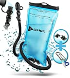 Luamex® hydration bladder 2L - water bladder - BPA free - hydration system with on / off ...