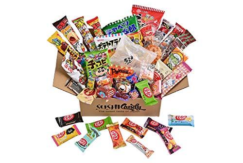 40 japanische Pralinenschachtel 30 japanische Snacks Plus 10 japanische Kit...
